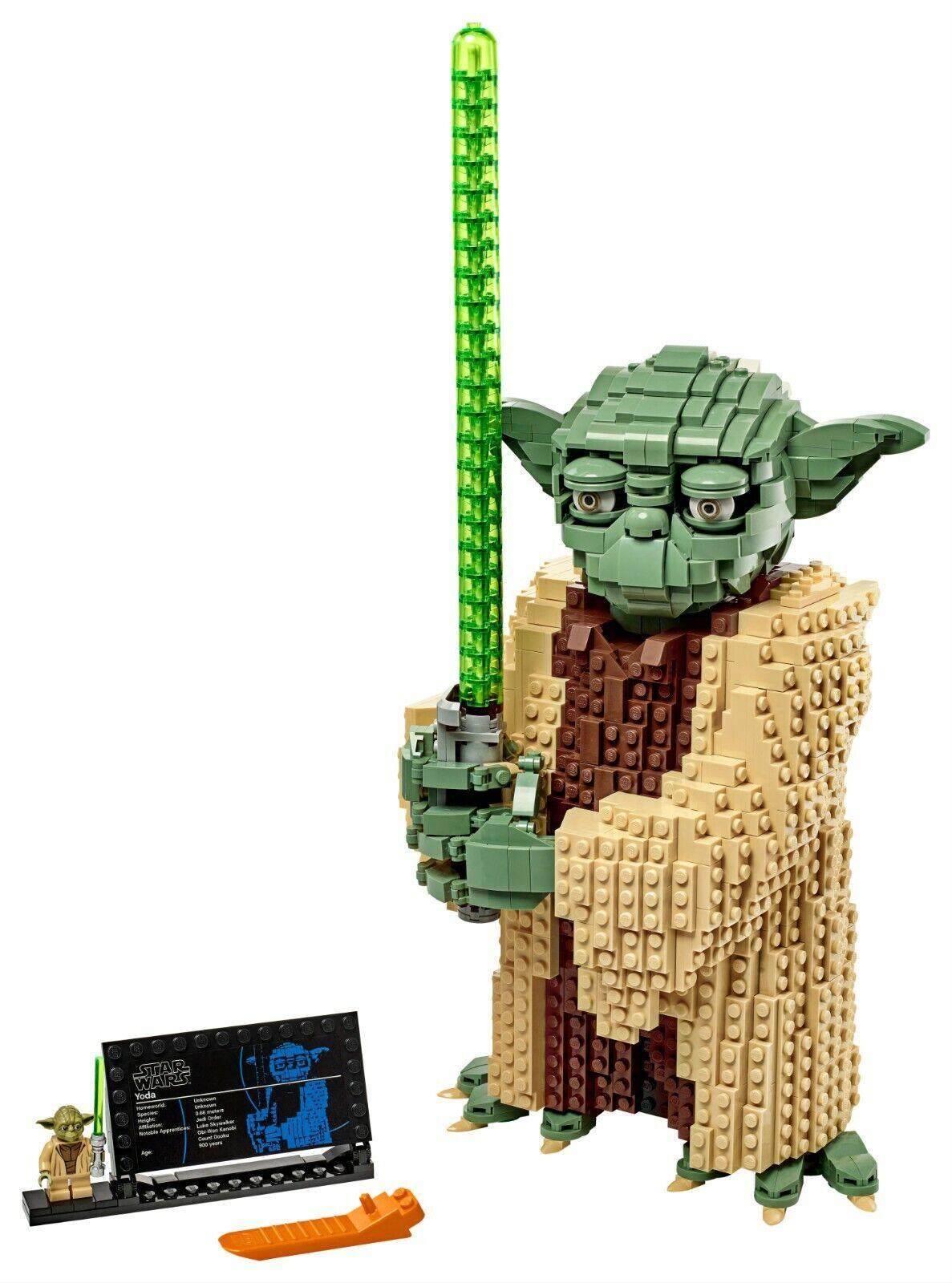 LEGO ® Star Wars 75255 Jedi-Meister Yoda™ mit Lichtschwert N10//19
