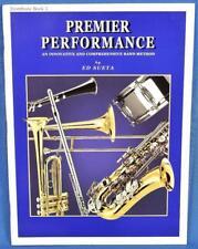 Ed Sueta PP210SUE Premier Performance Book 1 with CD Trombone