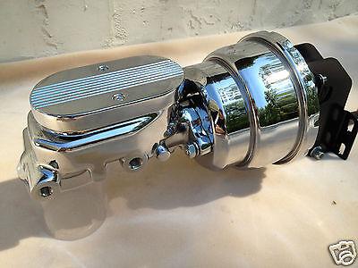 "1970-74 Dodge Challenger 7/"" dual brake booster /& chrome master cylinder New"