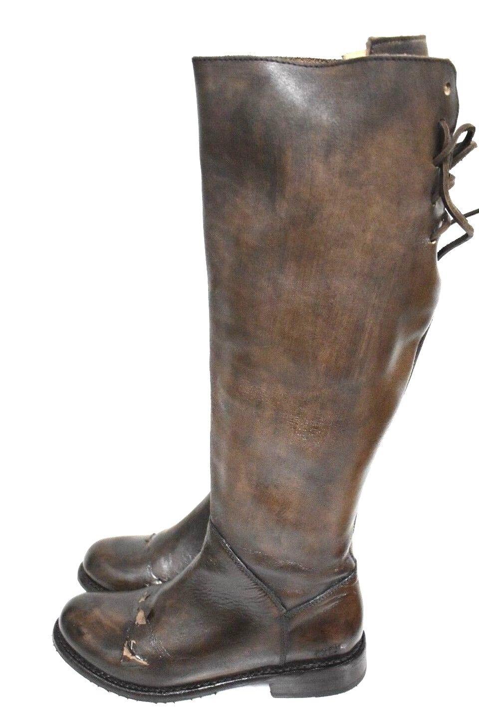 Bed Stu Manchester Teak Glaze Cobbler Serie Lederstiefel  8  3
