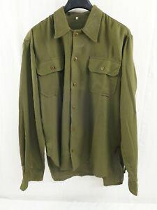 US-ARMY-WW2-Shirt-M1937-Feldhemd-Hemd-Gr-M-Medium-M37-US40-M-1937-819