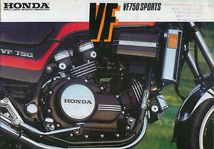 Honda-VF-750-Sports-Motorcycle-original-Catalogue-not-dated