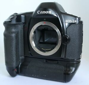 CANON EOS-1N HS 1NHS FILM BODY POWER DRIVE BOOSTER E1 AS IS, READ WELL!