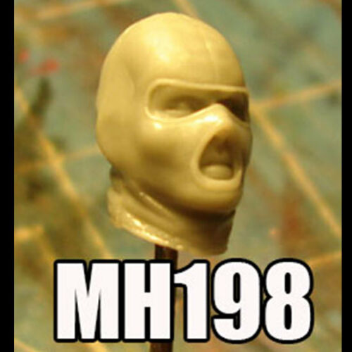 "MH198 Custom Cast head use w//3.75/"" Star Wars GI Joe Acid Rain action figures"