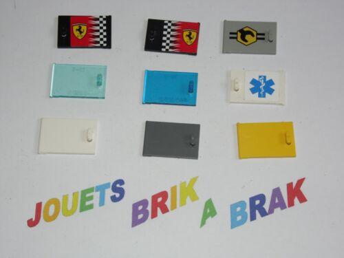 Lego Container coffre placard Cupboard 2x3x2 door porte choose color ref 4533