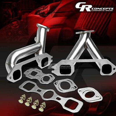 STAINLESS STEEL HEADER MANIFOLD EXHAUST FOR 37-62 CHEVY STRAIGHT 6/SIX 216-261