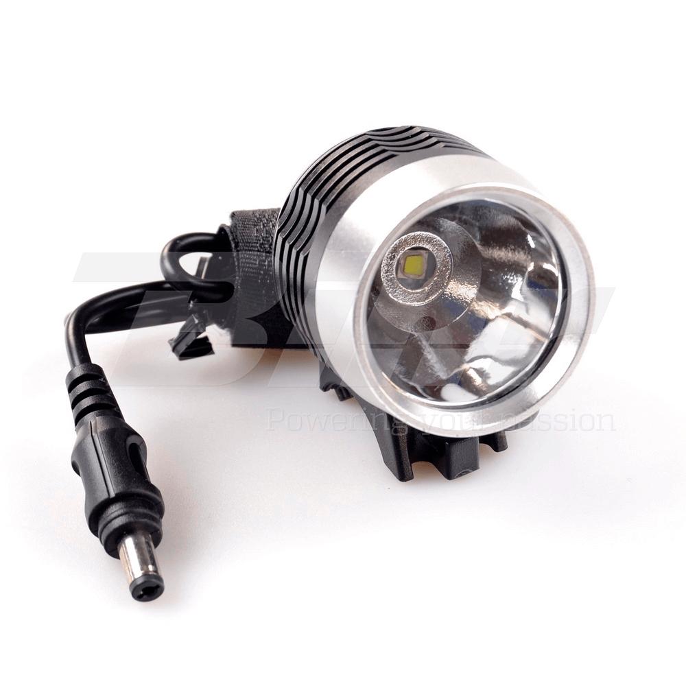 32674 Luce anteriore bici professionale a LED a 3 funzioni batteria 4 ore 1000lm