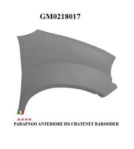 02.18.017 CHATENET BAROODER - - R.DOC NON ORIGINALE PARAFANGO ANTERIORE DX