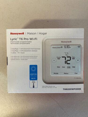 Honeywell TH6220WF2006//U Lyric T6 Pro Wi-Fi Programmable Thermostat