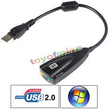 Black SteelSeries Siberia 5H V2 USB 7.1 Soundcard 5hv2 Surround sound NEW