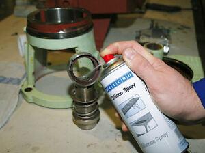 Silicon-Spray Gleit- und Trennmittel temperaturbeständig WEICON Spraydose 400 ml