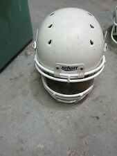 ^^^m Schutt 7960 Youth Football Helmet, Face mask White, LARGE