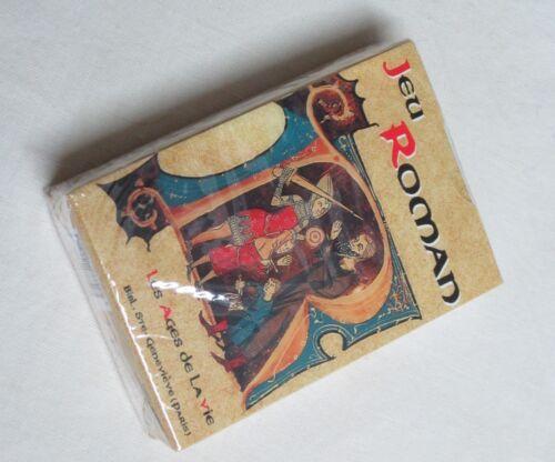 période romane Jeu de 54 cartes à jouer roman