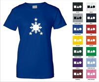 Philippine Sun And Stars Flag Cool Trendy Symbol Funny Woman's T-shirt