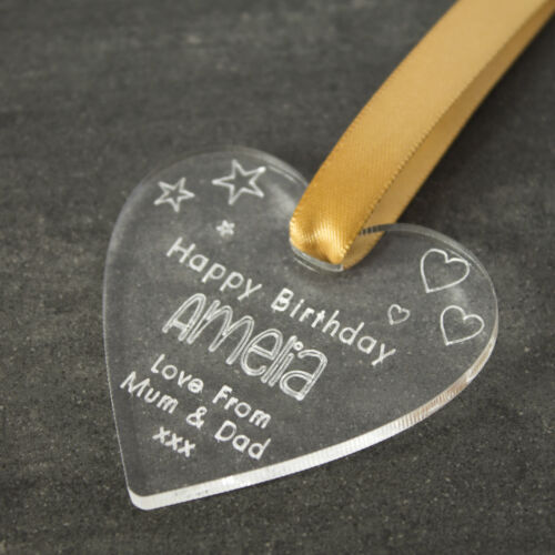 Congratulations Wedding Personalised Gift Tag for Birthday Anniversary Heart