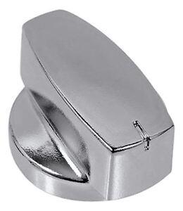 plaque de cuisson commutateur boutons argent noir Chromé cuisinière 3 x poêles véritable contrôle pour four