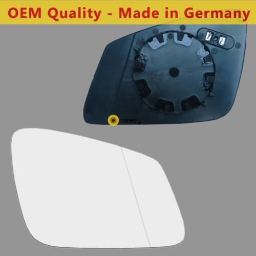 BMW 7 Series Wing Mirror Glass Silver Ashpheric,DRIVER SIDE Heated/&Base 2008-/>15