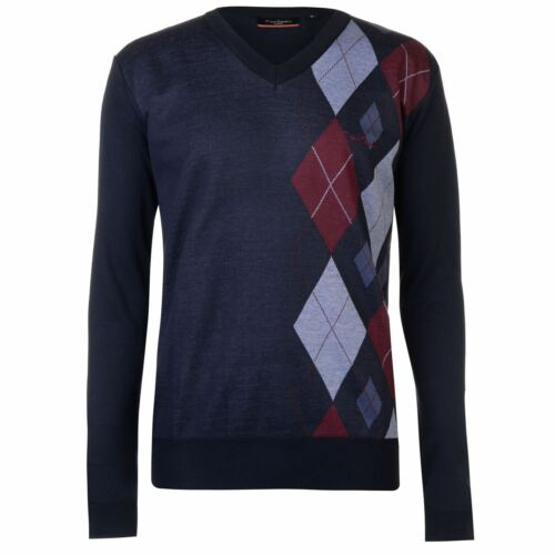Neuf Sweat Pull Col V Homme PIERRE CARDIN Taille Grand Du S au XXL