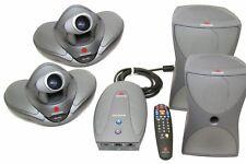 Polycom Vsx 7000 Conference Video System 2 Cameraremote2 Speakervsx Concert