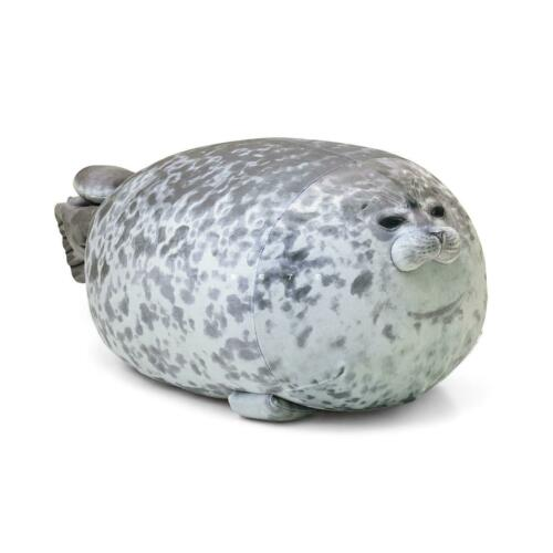 20-40cm Chubby Blob Seal Plush Animal Soft Ocean Animal Pillow Stuffed Doll