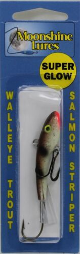 "MOONSHINE LURES SHIVER MINNOW SIZE #2 2-3//4/"" 1//2 oz GOBY"