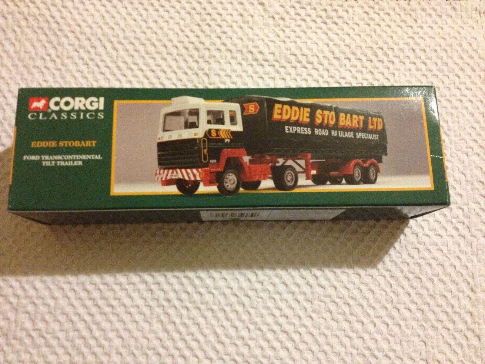 Corgi Classics Eddie Stobart 23101 Ford Transcontinental Tilt Trailer