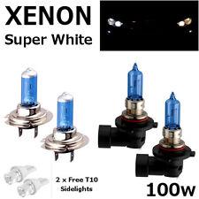 H7 Hb3 100w Super Blanco Xenon actualización Hid Set Completo Faros bombillas high/low/side