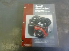 Intertec Publishing Small Air Cooled Engine Service Manual 1st Edition Vol 2