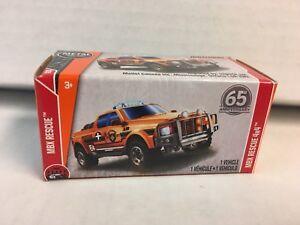 Orange Power Grabs WG15 MXB Rescue 4x4 2018 Matchbox Case G