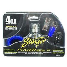 4 Gauge High Quality Tru Spec Power Amp Install Kit Wire 1750 Watts Accessory