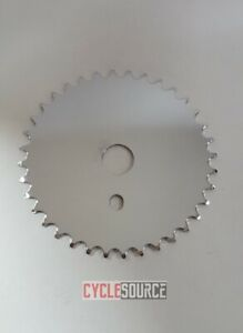 Bicycle-Chainring-Sprocket-JS-67-36Teeth-Chrome-Beach-Cruiser-BMX-Bike-Solid