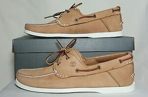 Details about TIMBERLAND EARTHKEEPERS HERITAGE 2 EYE BOAT SHOES LIGHT BROWN TB063007A NIB