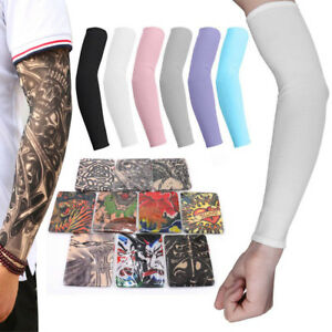 10Pcs-Cooling-Tattoos-Arm-Sleeves-Sun-UV-Protection-Cover-Sport-Basketball