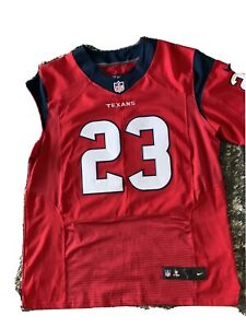 Arian Foster #23 Texans Red Nike On Field Jersey Sz 48 NFL Players Excl cond