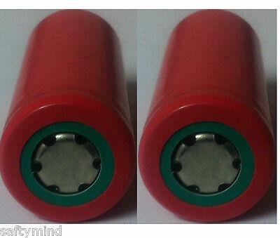 "Brand New ""2""  Sanyo UR18500F 18500 3.7V 1620mAh Li-ion Rechargeble battery,"