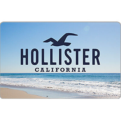 Hollister Co. Gift Card  - $25 $50 or $100 - Email delivery