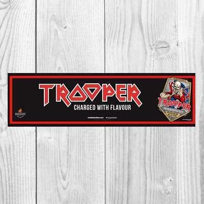 IRON MAIDEN TROOPER BEER BAR RUNNER MAT ROBINSONS BREWERY