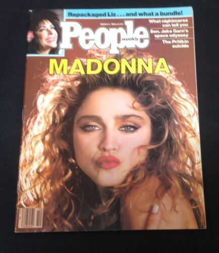 """March 11 1985 """"People Weekly Magazine"""" MADONNA ISSUE"""