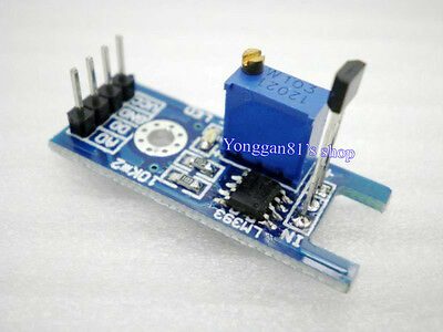 Hall Effect Magnetic Detecting Sensor Module Detector using 44E & LM393 swtich