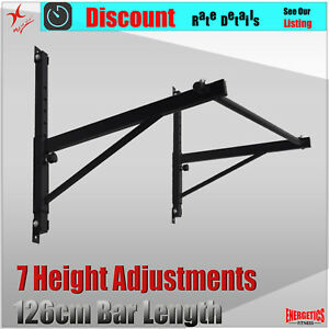 Wall-Mounted-Chin-Up-Bar-Pull-Up-Rack-7-Height-Adjustments-Exercise-bar