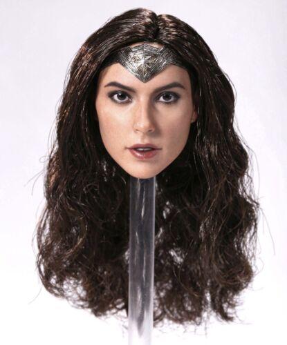 in stock 1//6 Gal Gadot headplay fit toys phicen female body