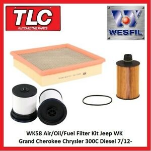 image is loading wk58-air-oil-fuel-filter-kit-wk-grand-
