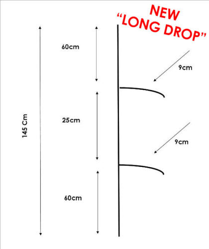 AUS SELLER Twin Drop Paternoster Rigs//BYO Hooks//Free Post from QLD