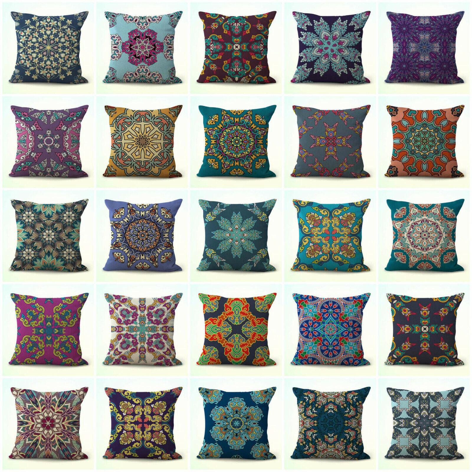 US Vendeur-Lot de 20 Patio Coussin Meditation Mandala housses de coussin