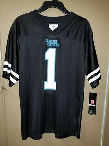 dabf8895 Details about NEW * NFL CAROLINA PANTHERS YOUTH #1 CAM NEWTON JERSEY SIZE  14/16