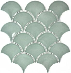 FAN-Mosaik-Fliese-Keramik-Faecher-petrol-glaenzend-Bad-Kueche-13-FS18-f-10-Matten