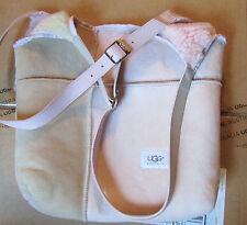 NEW UGG Bag Sundance Shopper Tote Sheepskin Shearling Sand Pink $265 retail