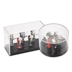 Headshell-Cartridge-Keeper-Shell-Case-Acrylic-Box-Stylus-Holder-Rectangle-amp-Round