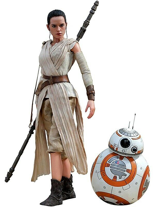 Star Wars The Force Awakens Rey & BB-8 Collectible Figure