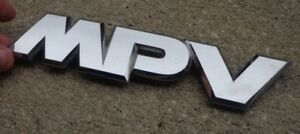 Details about Mazda MPV emblem badge decal logo symbol script trunk OEM  Factory Genuine Stock